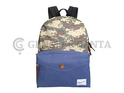 promosyon komando lacivert sırt çantası
