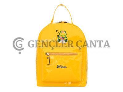 promosyon sarı sırt çantası