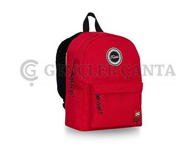 promosyon kırmızı sırt çantası