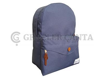 promosyon çivit sırt çantası