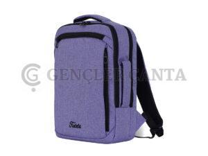 promosyon lila sırt çantası