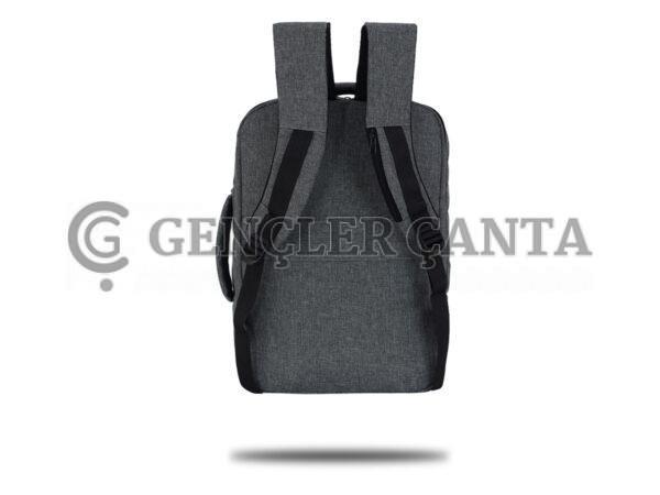promosyon gri sırt çantası