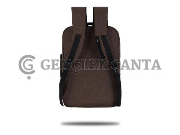 promosyon kahverengi sırt çantası