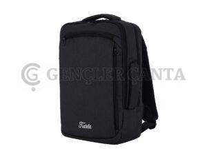 promosyon siyah sırt çantası