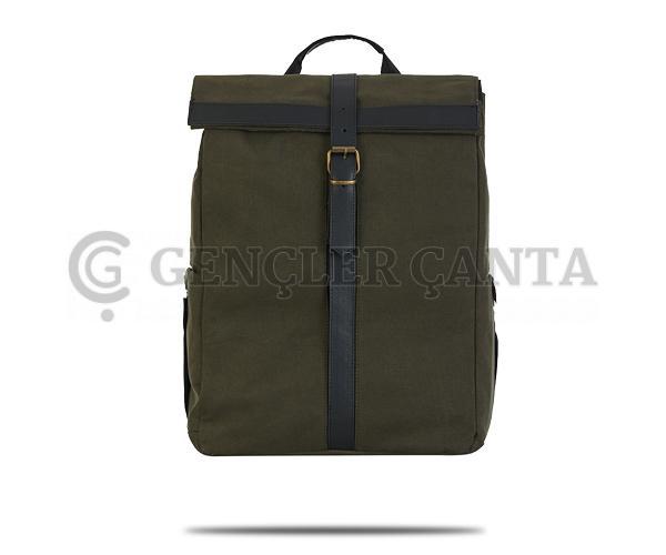 promosyon koyu yeşil sırt çantası