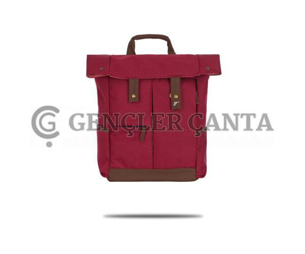 promosyon bordo sırt çantası