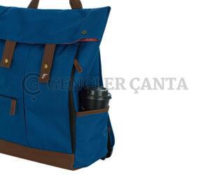 promosyon mavi sırt çantası