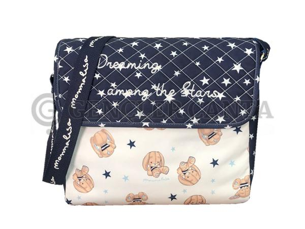 anne bebek postacı ve el çantası