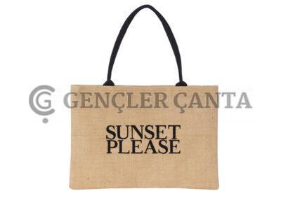 promosyon jüt plaj çantası